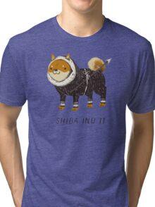 shiba inu-it Tri-blend T-Shirt