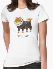 shiba inu-it Womens Fitted T-Shirt