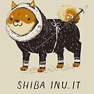 shiba inu-it by louros