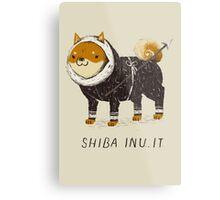 shiba inu-it Metal Print