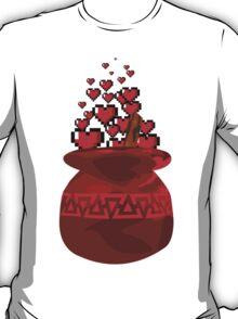 Red Potion Hearts w/o Cartridge T-Shirt