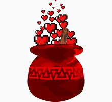 Red Potion Hearts w/o Cartridge Unisex T-Shirt