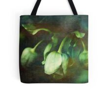 Painted Hellebore Tote Bag