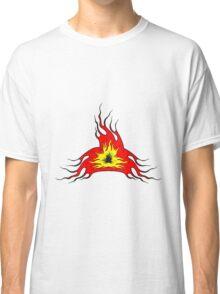Feuer flamme kunst  Classic T-Shirt