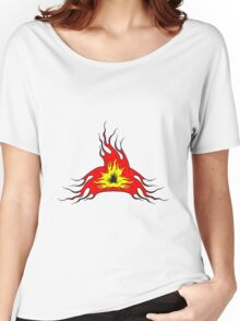 Feuer flamme kunst  Women's Relaxed Fit T-Shirt