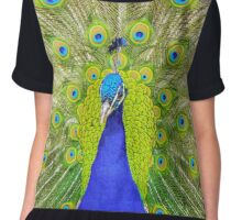 Peacock Chiffon Top