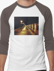 11:13, A man's following me Men's Baseball ¾ T-Shirt