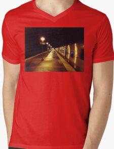 11:13, A man's following me Mens V-Neck T-Shirt