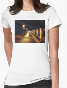 11:13, A man's following me Womens Fitted T-Shirt