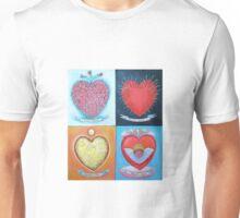Corazones Unisex T-Shirt