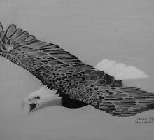 Soaring Eagle by VivianRay