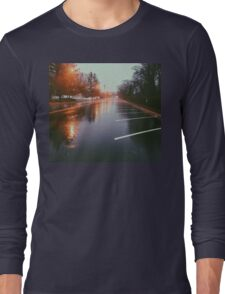 7:42, Walked out of a forest to find rain Long Sleeve T-Shirt
