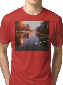 7:42, Walked out of a forest to find rain Tri-blend T-Shirt