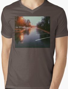 7:42, Walked out of a forest to find rain Mens V-Neck T-Shirt