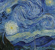 Vincent Van Gogh Starry Night by fineartgallery