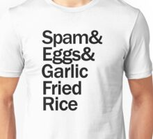 Spam Eggs Rice Unisex T-Shirt