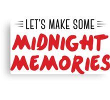 Midnight Memories Canvas Print