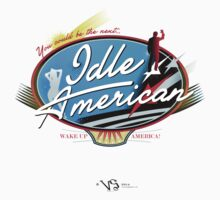 Idle American by Chris Heidt
