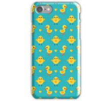 Chicks and Ducklings iPhone Case/Skin