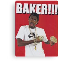 Baker!!! Canvas Print