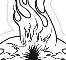 Feuer flamme feuerball agro kollision  Sticker