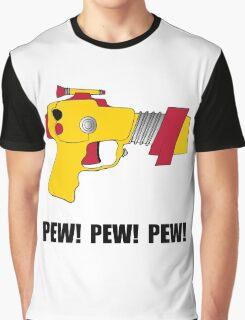 Laser Gun Pew Graphic T-Shirt