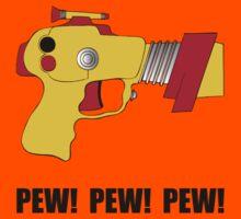 Laser Gun Pew Kids Tee
