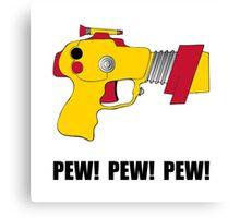Laser Gun Pew Canvas Print