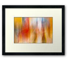 Blur colors Framed Print