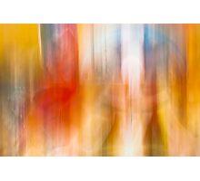 Blur colors Photographic Print