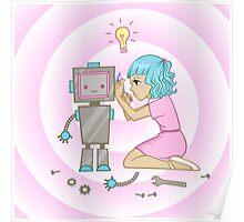 Engineer Girl Poster