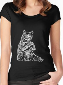Cool Bear Women's Fitted Scoop T-Shirt