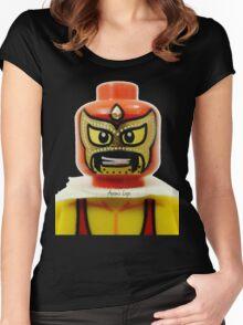 Lego Wrestler Master Buikder Women's Fitted Scoop T-Shirt