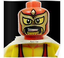 Lego Wrestler Master Buikder Poster