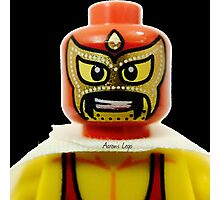 Lego Wrestler Master Buikder Photographic Print