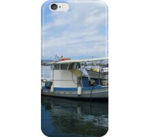 LOCAL FISHING BOATS IN THE HARBOUR. iPhone Case/Skin