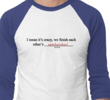 Frozen Mad Libs Men's Baseball ¾ T-Shirt