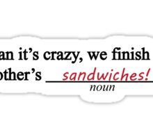 Frozen Mad Libs Sticker