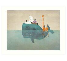 a summer holiday Art Print