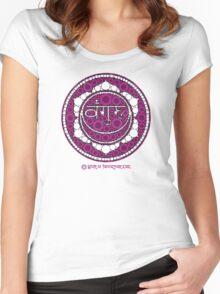 The Sacred Symbol of Guru Jawaharlal Women's Fitted Scoop T-Shirt