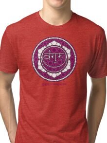 The Sacred Symbol of Guru Jawaharlal Tri-blend T-Shirt