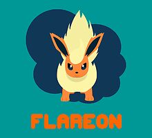 FLAREON by WillOrcas