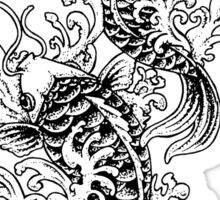 Koi Carp Tattoo Sticker