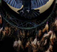 Native American Zodiac Sign of the Raven Sticker