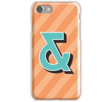 Ampersand + iPhone Case/Skin