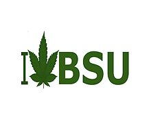 I Love BSU by Ganjastan