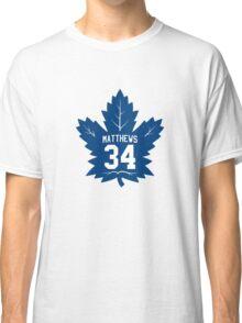 Auston Matthews - Toronto Maple Leafs Classic T-Shirt