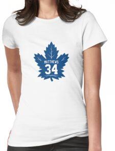 Auston Matthews - Toronto Maple Leafs Womens Fitted T-Shirt