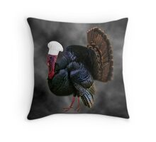 。◕‿◕。 AND WHAT ARE U COOKING THIS THANKSGIVING GOBBLE GOBBLE?-THROW PILLOW 。◕‿◕。 Throw Pillow