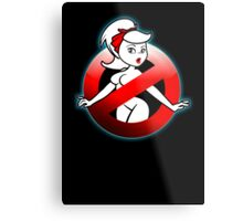 The REAL Lady Ghostbusters - Rule #63 (Logo) Metal Print
